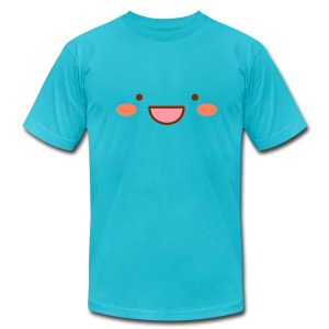Mayopy face - Men's T-Shirt by American Apparel