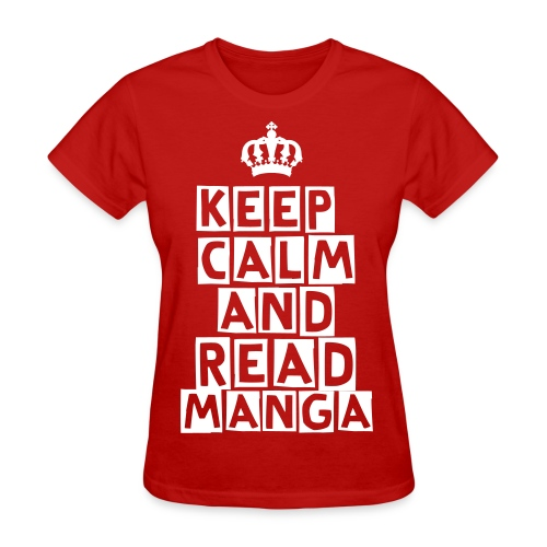 [MISC] Keep Calm And Read Manga - Women's T-Shirt