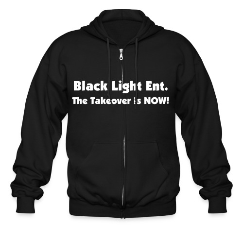 Black Light Ent. Mens Jip-Up Hoodie - Men's Zip Hoodie