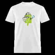 T-Shirts ~ Men's T-Shirt ~ Logo & QR (Light)