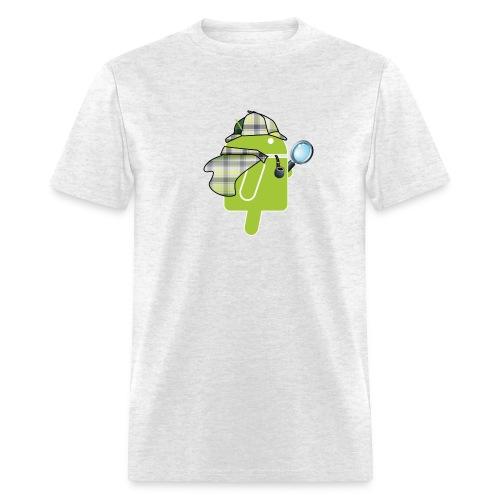 Logo & QR (Light) - Men's T-Shirt