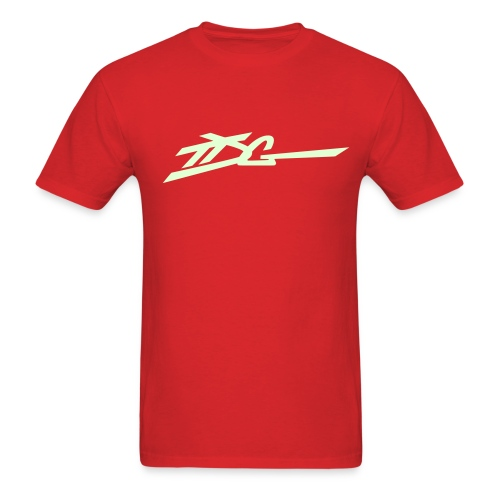 TDG CLASSIC (GlowInDark) - Men's T-Shirt