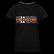 T-Shirts ~ Women's V-Neck T-Shirt ~ Philly West - Women's V-Neck