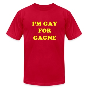 I'm Gay for Gagne - Men's AA - Men's T-Shirt by American Apparel