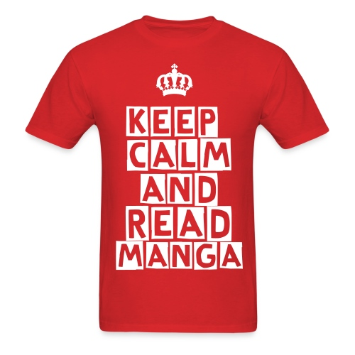 [MISC] Keep Calm And Read Manga - Men's T-Shirt