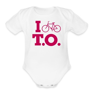 Pink Logo   - Baby Short Sleeve One Piece