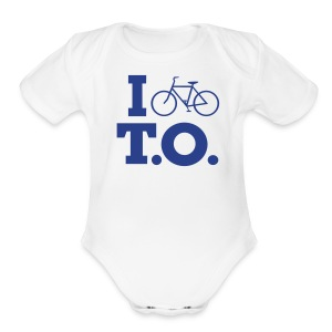 Blue Logo   - Baby Short Sleeve One Piece