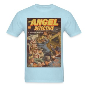 Angel Detective Hero Pulp - Men's T-Shirt