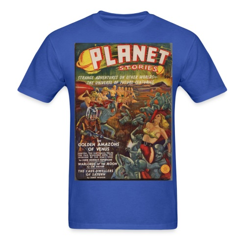 Planet SF Pulp 1st Issue Winter 1939 - Men's T-Shirt