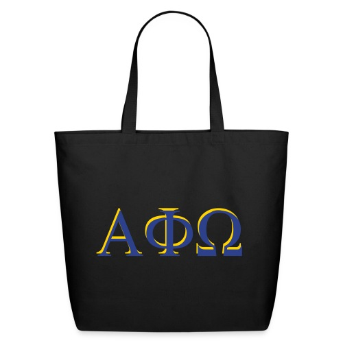 Limited Time Only - Alpha Phi Omega tote bag - Eco-Friendly Cotton Tote