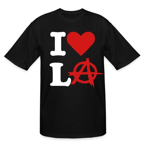 I LOVE LA! - Men's Tall T-Shirt