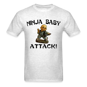 Ninja Baby Attack - Men's T-Shirt