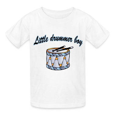 little drummer boy Kids' Shirts