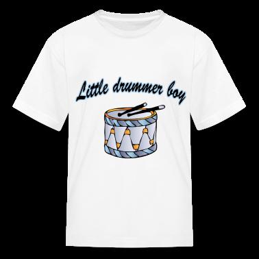 little drummer boy Kids' Shirts