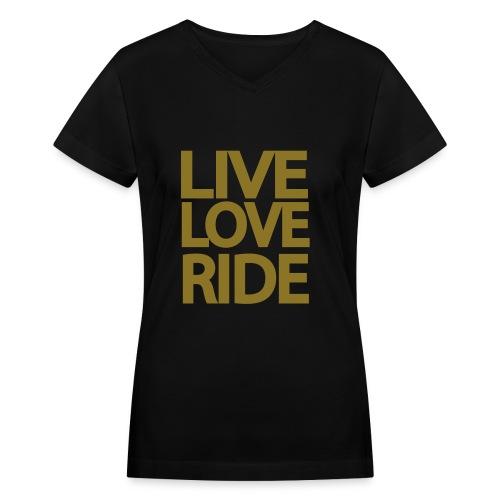 Women's LLR - Women's V-Neck T-Shirt