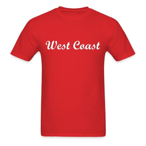 Simple West Coast - Men's T-Shirt