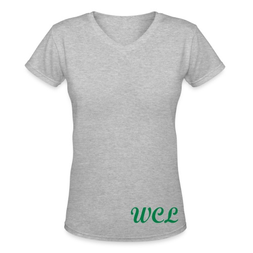 Women's V-neck - Women's V-Neck T-Shirt