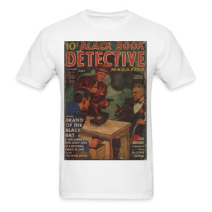 Black Book Detective 1st Black Bat - Men's T-Shirt