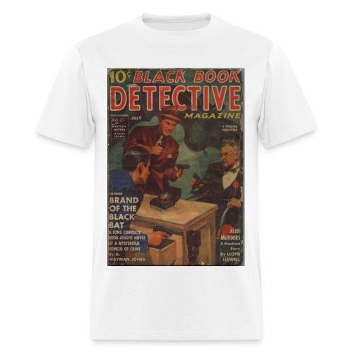 Black Book Detective 1st Black Bat - Men's T-Shirt