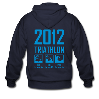 2012 Triathlon Zip Hoodies/Jackets