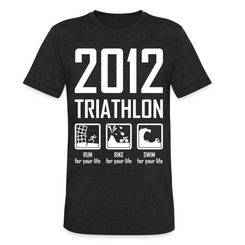 2012 Triathlon - Unisex Tri-Blend T-Shirt