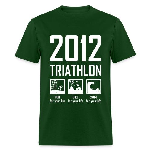 2012 Triathlon - Men's T-Shirt