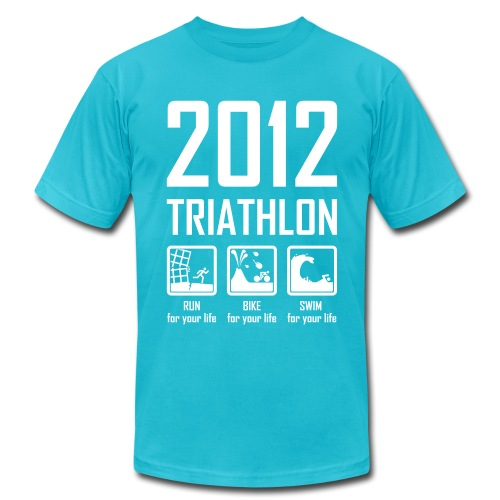 2012 Triathlon - Men's  Jersey T-Shirt