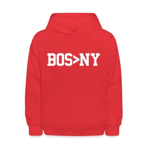 BOS > NY - Kids' Hoodie