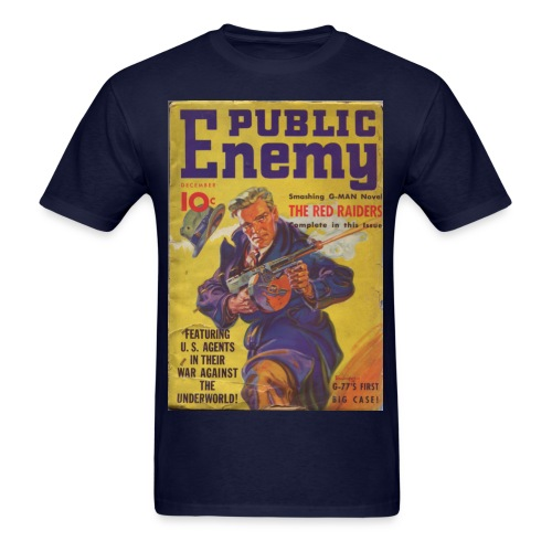 Public Enemy 1st Issue Dec 1935 - Men's T-Shirt