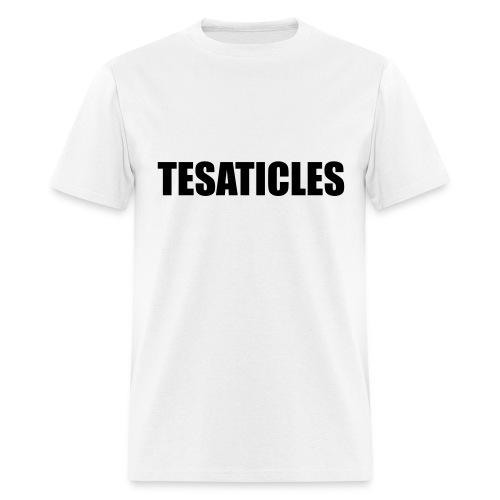 Tesaticles - Men's T-Shirt