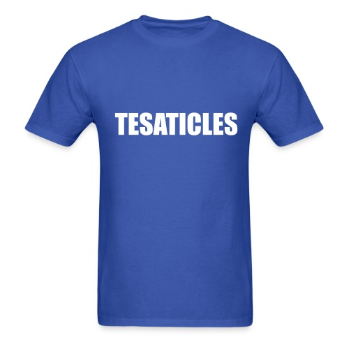 Tesaticles - Men's T-Shirt