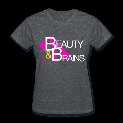 Lady's BEAUTY & BRAINS - Women's T-Shirt