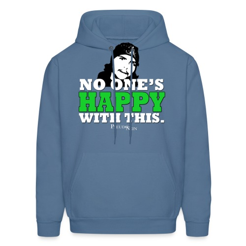 No one's happy with this Hoodie - Men's Hoodie