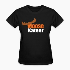 Moose-kateer (dark) Women's T-Shirts