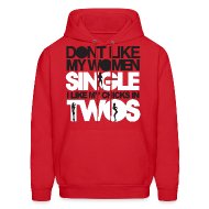 Hoodies ~ Men's Hoodie ~ Chicks in Two