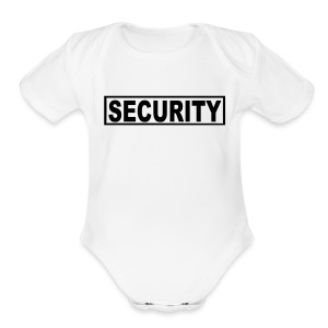 Security - Short Sleeve Baby Bodysuit