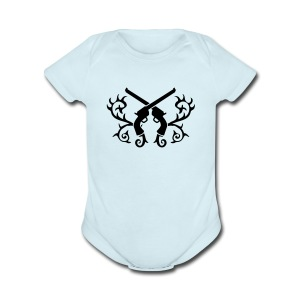 Tribal Guns - Short Sleeve Baby Bodysuit