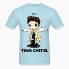 Team Castiel (light) T-Shirts