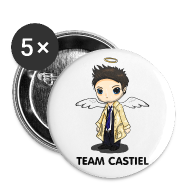 Buttons ~ Small Buttons ~ Team Castiel