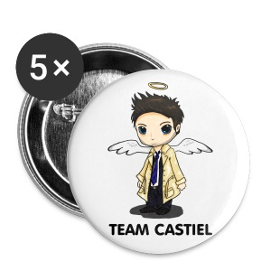 Team Castiel  - Small Buttons