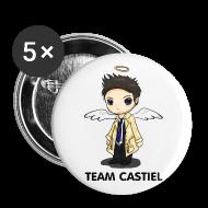 Buttons ~ Large Buttons ~ Team Castiel