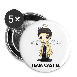 Team Castiel  - Large Buttons