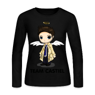 Long Sleeve Shirts ~ Women's Long Sleeve Jersey T-Shirt ~ Team Castiel