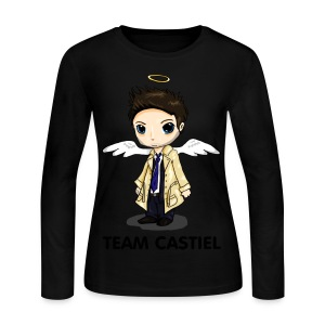 Team Castiel  - Women's Long Sleeve Jersey T-Shirt