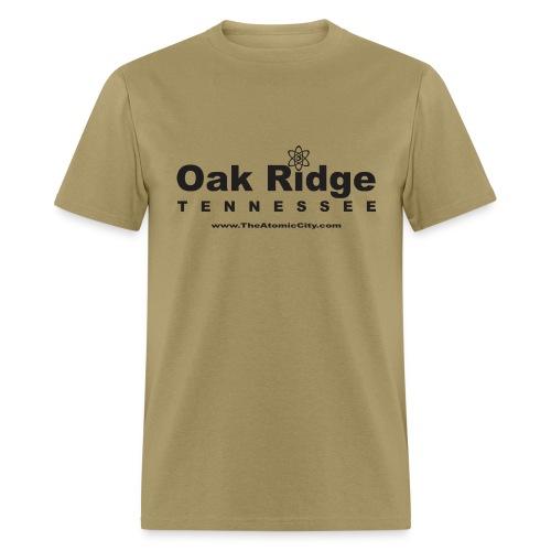 Oak Ridge, TN - Men's T-Shirt