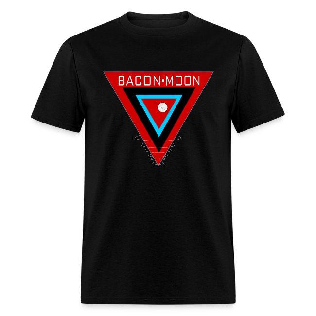 Bacon Moon Black T White Rings