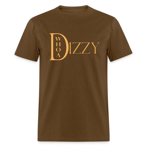 Whoa Dizzy Logo T-Shirt - Men's T-Shirt