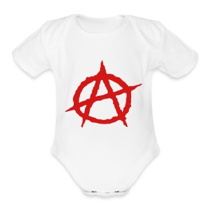 Baby Anarchy - Short Sleeve Baby Bodysuit