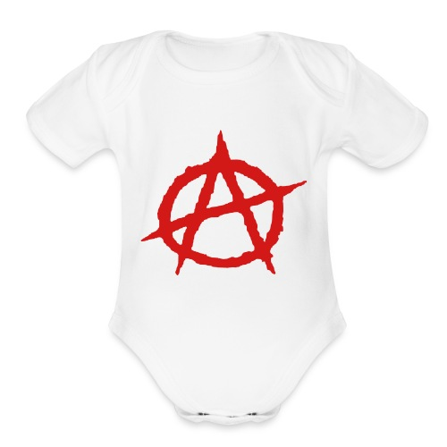 Baby Anarchy - Organic Short Sleeve Baby Bodysuit