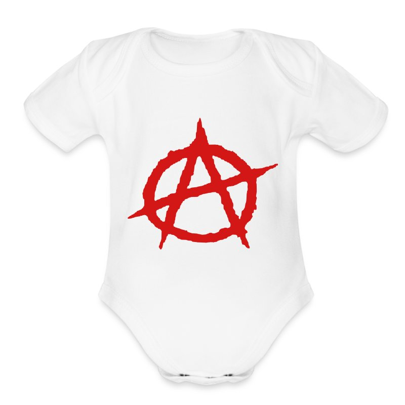 Baby Anarchy - Short Sleeve Baby Bodysuit